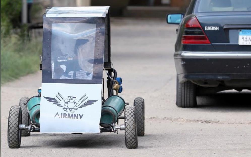 Car That Runs On Air >> Egyptian Students Design Car That Runs On Air Asia Pacific